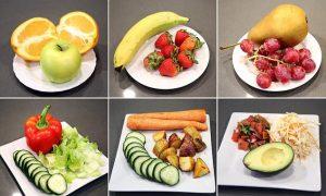 Ăn thế nào để đủ lượng rau và trái cây tối thiểu mỗi ngày?
