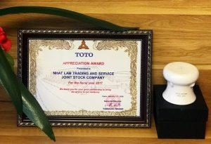 Công ty TNHH TOTO Việt Nam tri ân nhà cung cấp suất ăn công nghiệp Nhật Lâm